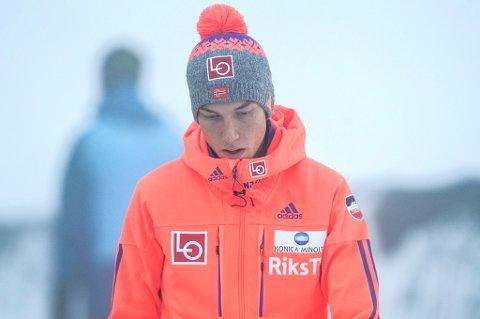 – EN NEDTUR: Johann André Forfang endte som nummer ni sammenlagt i hoppuka. Verken det eller 13.plassen i Bischofshofen lørdag var nok til å gjøre tromsøgutten fornøyd.