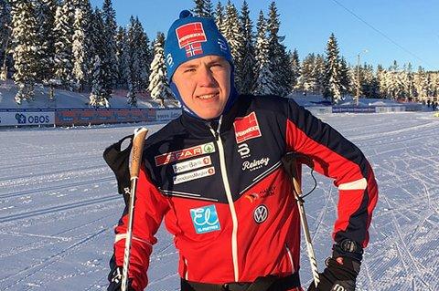TATT UT: Erik Valnes (21) fra Bardufoss og Team Nord-Norge er klar for verdenscup i Tyskland.