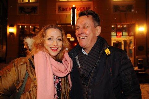 I VATER: Administrativ leder Astrid Aure og styreleder Gunnar wilhelmsen i TIFF er fornøyde med organisasjonen, som har vokst til å bli en solig kulturbedrift i Tromsø og landsdelen.