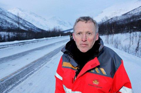 GÅR AV: Torbjørn Naimak gir seg etter 44 år i Statens vegvesen.