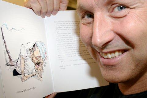 FLIREBOK: Ronny Trælvik med ei bok som søringer kanskje kan lære noe av.