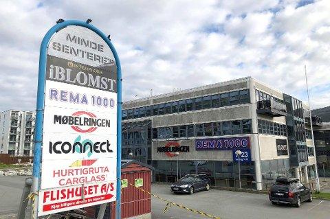 MANGLER VARER: Etter konkursen på Møbelringen i Tromsø ble det satt i gang konkurssalg. Foto: Guro Lysnes