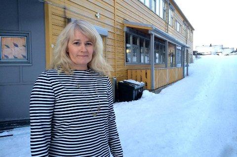 REKTORBYTTE: Rektor ved Hamna skole, Lena Steinsvik Hansen, får snart voksne elever når hun blir ny rektor ved voksenopplæringa.