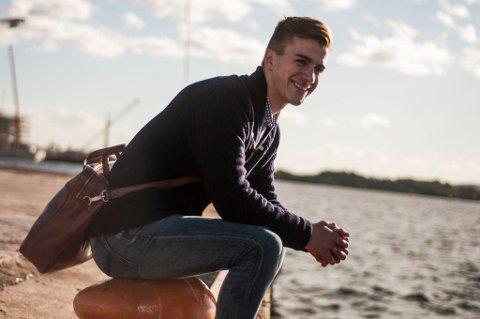 """- ALDRI REDD: Tromsøgutten Mats Berg Hammervoll er en av få menn som har erfaring med å være åpent homofil i lagidrett. - For meg var det aldri snakk om å """"komme ut av skapet"""". Jeg visste at folk er mennesker og har gode verdier. På den måten så var jeg aldri redd, sier han."""