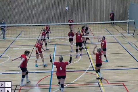 VANT: Finnsnes VBK jublet for seier i Tromsø.