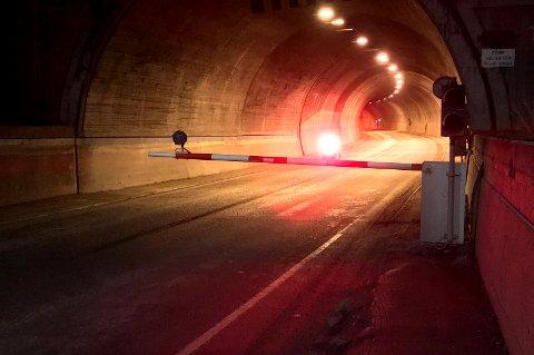 STENGT: Breivikatunnelen er blant tunnelen som stenges av i forbindelse med brannøvelse.