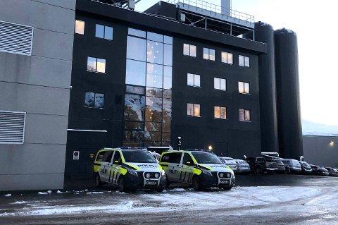 ARBEIDSULYKKE: En mann ble sendt til sykehuset i Tromsø etter en ulykke på Kvitebjørn Varme mandag formiddag.