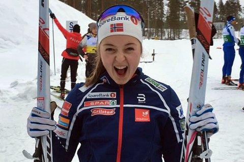 STOR ÆRE: Vilde Nilsen fra Tromsø er en av fire utøvere som er nominert som årets kvinnelige funksjonshemmede utøver til Idrettsgallaen.