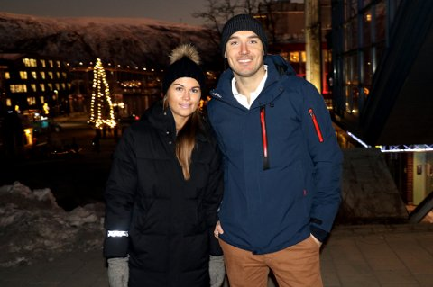 PÅ FLYTTEFOT: Andreas Nygaard og samboer Anna-Elisabeth Liljedal har blant annet brukt jula på å flytte til ny bolig i Tromsø. 28 år gamle Nygaard har fått litt «is i rubben» som medisinstudent, men hadde ekstremt god glid som en av verdens aller beste langløpere på ski.