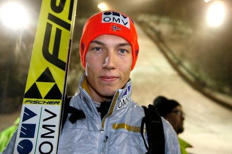 HOPP-HÅP: Johann Forfang er Norges største håp under årets  hoppuke, som starter lørdag ettermiddag.