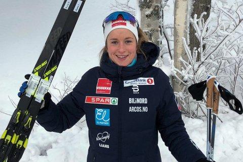 KNALLSTART: Anna Svendsen tok seg videre fra prologen da Tour de Ski åpnet lørdag, før det sa stopp i kvartfinalen.