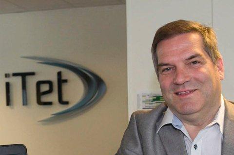 HAR TRO PÅ LØSNING: Hans Albert Nilsen, administrerende direktør i iTet.