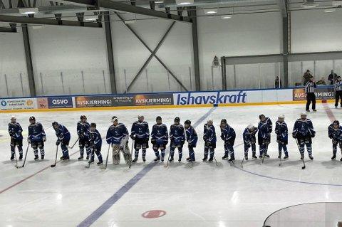 STORSEIER OG UAVGJORT: Tromsø Hockeys damelag vant stort lørdag - og spilte uavgjort søndag.