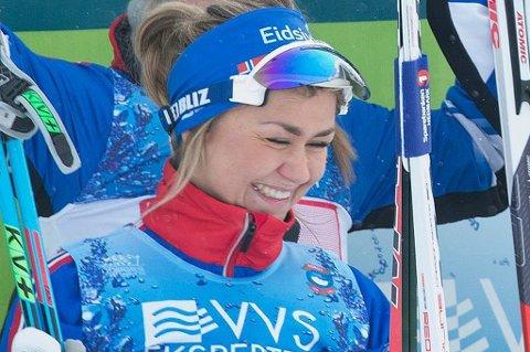 Emilie Kristoffersen ble nummer fem i Norgescupen på Åsen søndag.