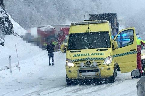 DØDSULYKKE: 52 år gamle Hilde Martine Heika fra Lanes i Karlsøy kommune i en kollisjon mellom en personbil og et vogntog på Hundbergan utenfor Tromsø 16. mars i fjor.