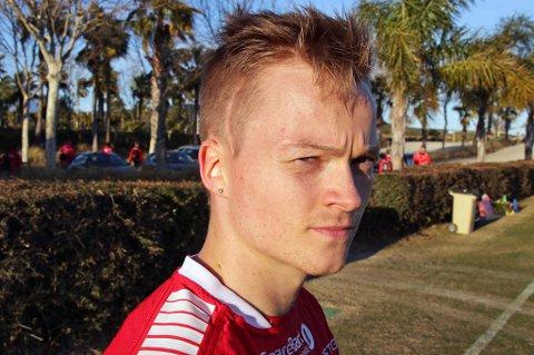 SOLGT: Aron Sigurdarson forlater TIL etter to sesonger i klubben. TIL og Start er enig om en overgang for den islandske kantspilleren.