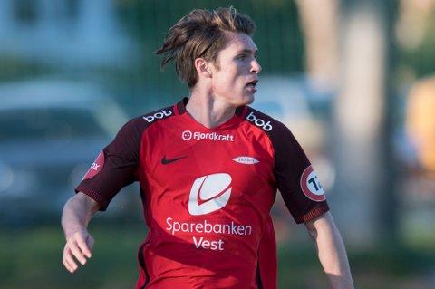 VIL SPILLE FOTBALL: Kasper Skaanes er ute etter å få spille jevnlig eliteseriefotball i større grad enn han har fått i Brann. Han er kjent med TILs interesse, og er ikke fremmed for å bosette seg i Nord-Norge så lenge det kan bety et karrieremessig oppsving.