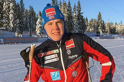 SA NEI TIL VERDENSCUPSJANSE: Erik Valnes måtte avslå mulighet til å gå verdenscup i Lahti denne helga på grunn av sykdom. Han får sjansen igjen i Drammen i neste uke.