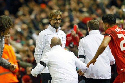 TIL-SAMARBEID? TIL ønsker et samarbeid med Liverpool FC og manager Jürgen Klopp for å selge stortalentet Isak Hansen-Aarøen til den engelske storklubben. Da kan spennende Liverpool-talenter lånes ut til TIL og styrke eliteserieklubbens spillertropp.