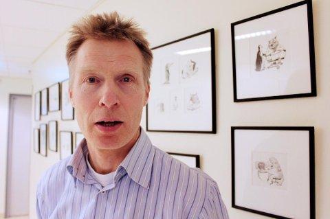 NY LEDER: Eivind Mikalsen er valgt til ny styreleder i UNN etter at Jorhill Andreassen trakk seg fra vervet fredag.