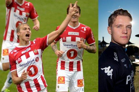TATT UT: Ulrik Yttergård Jenssen spiller fast for FC Nordsjælland, og er med på U21-landslaget sammen med TIL-spiss Runar Espejord. Mikael Norø Ingebrigtsen (t.h.) jobber seg inn i laget i IFK Göteborg, og er også tatt med til kampene mot Italia og Israel.