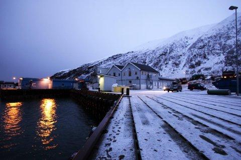 Dette fiskerianlegget skal selges for 100.000. I tillegg må kjøperen innfri et lån på drøyt 2 millioner. Foto: Ola Solvang