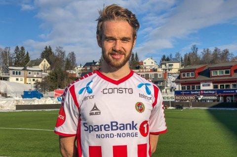 SIGNERT: Daniel Berntsen kommer fra Vålerenga og er klar som TIL-spiller.