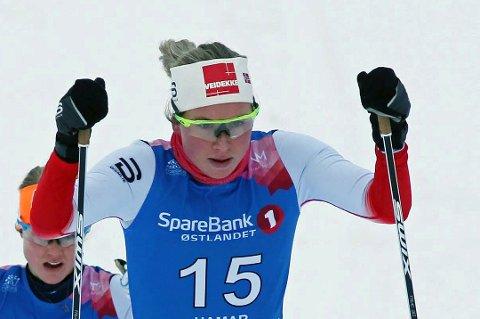 Silje Theodorsen var en av de mange løperne fra Troms som gikk til topps i NNM fredag.