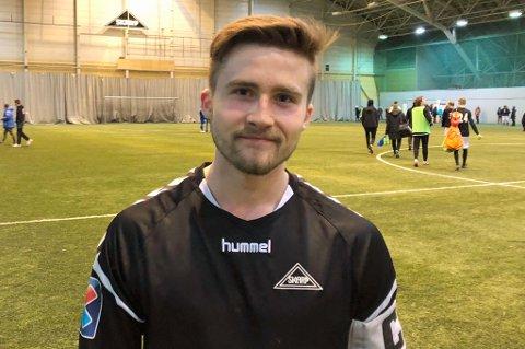 BB: Martin Myrhaug Hansen var banens suverene ener i oppgjøret mellom Nordkjosbotn og Skarp.