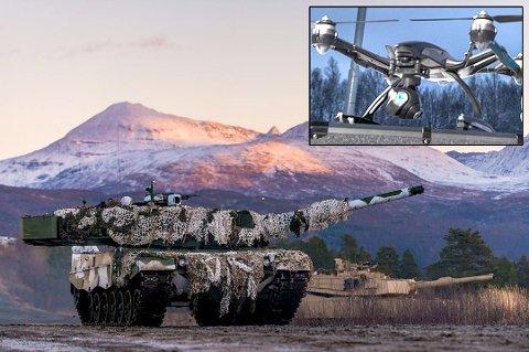 ØKT AKTIVITET: Forsvaret varsler om økt militæraktivitet langs veiene i Indre Troms neste uke.