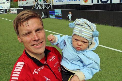 TILBAKE: Ruben Yttergård Jenssen har stått over de to siste kampene til Kaiserslautern etter at sønnen Edward måtte legges inn på sykehus i åtte dager.