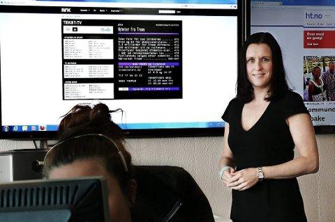 TOPPSJEF: Nina Einem er tilsatt som distriktsredaktør i NRK Troms.