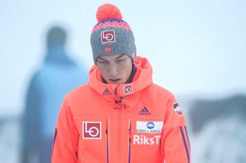 NEDTUR: Johann André Forfang gjennomførte en meget sterk avslutningshelg i Planica og endte som nummer sju i verdenscupen, men vil nok være skuffet over at sammenlagtseieren etter de fire dagene i Planica røk helt på tampen.