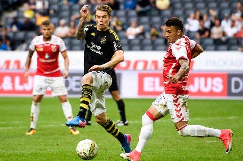 TIL-SPILLER: Robert Taylor er klar for TIL. 24-åringen kommer på lån fra svenske AIK på en avtale ut 2018-sesongen.