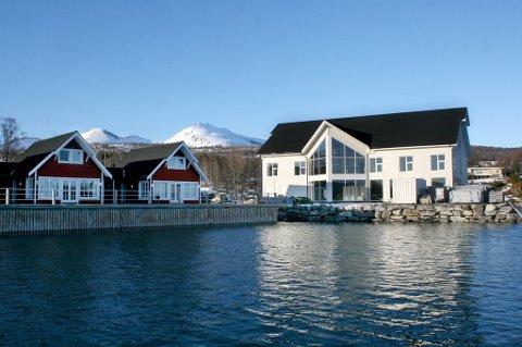KJAPT: Plutselig sto det et hotell i Frovåg på Senja.