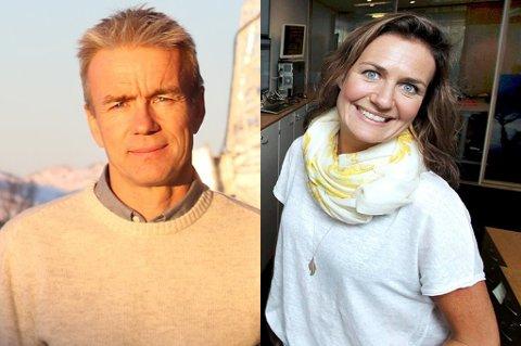 Alf Eirik Røkenes er økonomisjef hos KSAT. Eva Halvorsen er selvstendig næringsdrivende. Nå er de begge innstilt til TIL-styret.