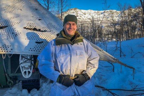 ENDELIG TILBAKE: Eldar Berli overtok som sjef for Brigade Nord i 2014. Etter tre vinterøvelser i Finnmark og Trøndelag, er brigaden tilbake i Troms med Joint Reindeer. Foto: Are Medby