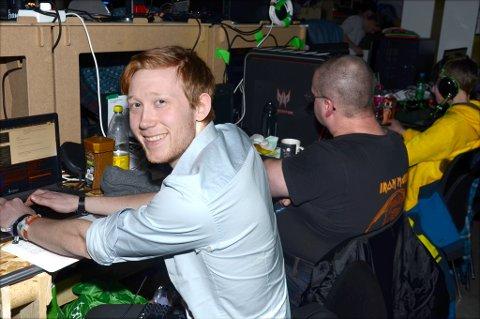 TG-VETERAN: Nikolai Magnussen har vunnet konkurransen innen etisk hacking fire av de siste årene, inkludert årets The Gathering.