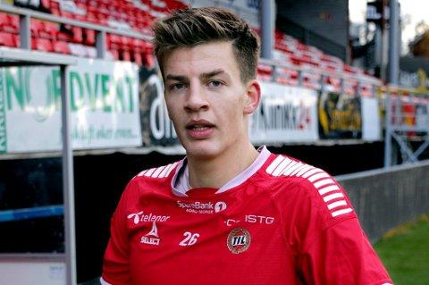 KLAR: TIL-kaptein Simen Wangberg spiller ikke mot Stabæk søndag, og da er det Jostein Gundersen som ser ut til å få sjansen. Forrige gang han startet for TIL i eliteserien var også borte mot Stabæk. Da endte det med scoring, solid spill og seier.