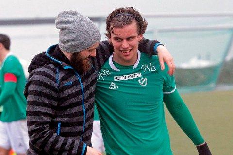 SATT UT: Morten Mathisen vendte tilbake til Fløya foran årets sesong. Nå regner ikke trener David Lundblad med at spissen, som har fått kyssesyken, er i aksjon før tidligst til sommeren.