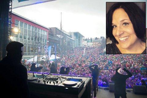 KOMMER TILBAKE: Sist gang den populære duoen var i Tromsø, var under Kreftforeningens gratiskonsert «Vinterlyd» i 2016. Når de nå i juni kommer tilbake til Tromsø, ligger prisnivået på noe ganske annet. Linda Bystedt reagerer på prisnivået.