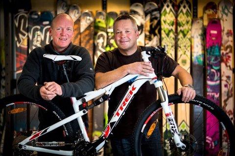 EIERE: Gjennom selskapet Nordbyen Holding eier Pål Kristiansen og Totto Eriksen sportsbutikken Tromsø Ski og Sykkel. Eriksen er også daglig leder ved butikken.