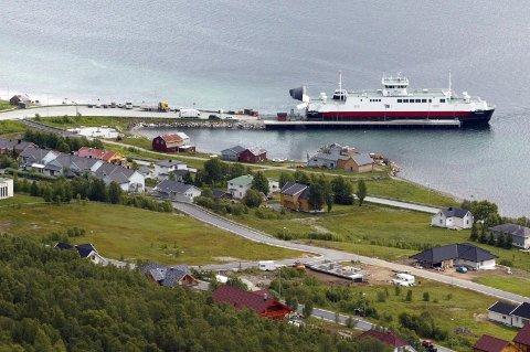 Fergeleiet på Hansnes i Karlsøy.