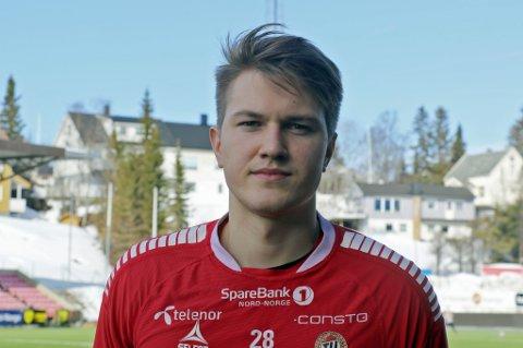 TILS FØRSTEKEEPER: Jacob Karlstrøm (21) får sjansen som førstekeeper i skadefraværet til Gudmund Kongshavn.