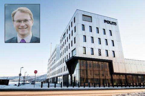 FENGSLING: Politiet krever fortsatt varetekt for en 48 år gammel eks-entreprenør fra Tromsø, siktet for økonomisk kriminalitet. Det vekker reaksjoner hos mannens forsvarer, advokat Gunnar Nerdrum Aagaard (innfelt).