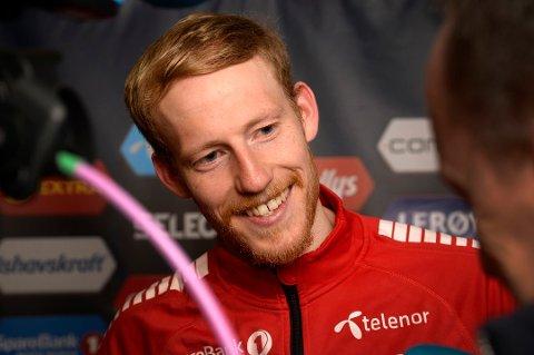 I FORM: Til helgen vil det bli nye muligheter for flere målpoeng for Gjermund Åsen. FOTO: Rune Stoltz Bertinussen / NTB scanpix