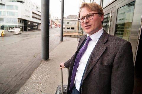 FORSVARER: Advokat Gunnar Nerdrum Aagaard er forsvarer for tromsømannen som nå er tiltalt for økonomisk kriminalitet. Mannen håper å bli løslatt fra varetekt og har igjen gått til Høyesterett for å få avklart spørsmålet.