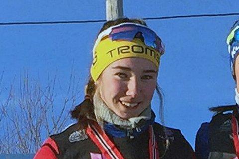SPENT FAVORITT: Ingrid Andrea Gulbrandsen har mulighet til å vinne norgescupen sammenlagt.