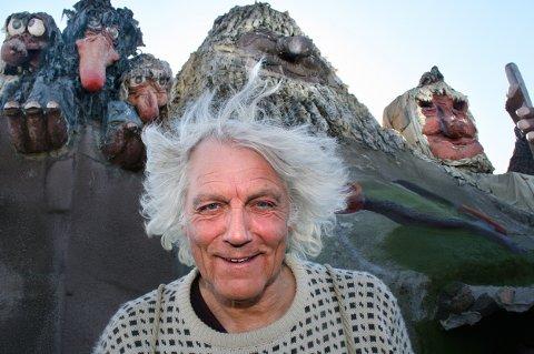 TROLLFAR: Leif Rubach feirer 25 år med Senjatrollet. Det har ikke bare vært en fest hele veien.