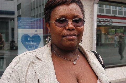 PÅGREPET: Julienne Sebagabo (44) er tiltalt for folkemord i Rwanda. Hun bodde i Tromsø i nesten 20 år, før hun flyttet til Oslo.